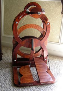 Infinity spinning wheel. I would love to see this move.