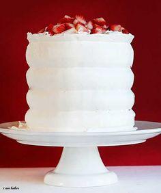 Red Velvet Strawberry Shortcake ~ http://iambaker.net