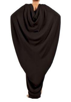 DRAPED LONG DRESS/ ABAYA