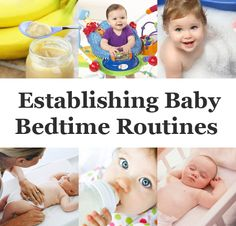 How to set a bedtime routine that will help your baby sleep through the night.