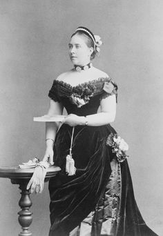 Empress Friedrich (1840-1901), when Crown Princess of Germany | Royal Collection Trust