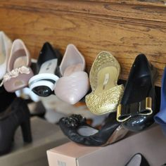 Move over heels!  You dont have to do much to make an impact when you are wearing these fabulous flats by Melissa.  Can you believe these shoes are plastic?  They will make as big of a statement as your favorite pair of heels on a big night out but are loads more comfortable (and cute to boot!). #plasticshoes #flatsvsheels #fashionfootwear #melissashoes #childrenshourshoes #thechildrenshourslc    The Children's Hour Bookstore & Boutique    Clothing  Gifts  Toys  Shoes    898 South 900 East…