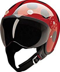 women's open face motorcycle helmet | Women's Motorcycle Helmets - DOT Approved Lady Bug - Open Face ...