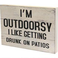 Outdoorsy Block