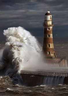 Roker Lighthouse, Sunderland, NE England