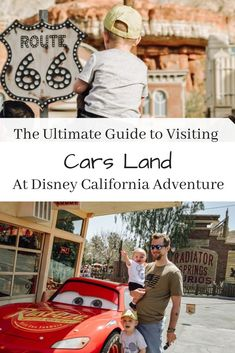 The Ultimate Guide to Visiting Cars Land Cars Land Disneyland, Disneyland Resort, Disneyland California, Disney California Adventure, Parenting Advice, Kids And Parenting, Travel With Kids, Family Travel, Disney Divas