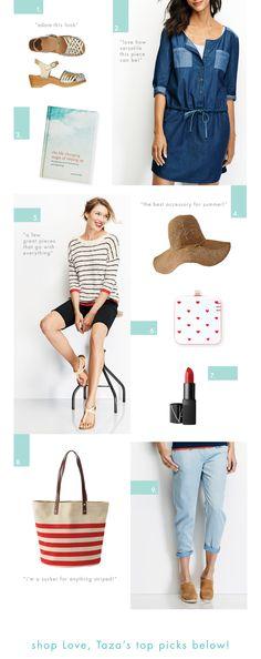 Love, Taza's Summer Essentials