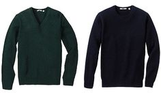 Uniqlo Lambswool Sweaters