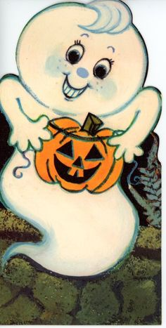 Vintage Hallmark Halloween Greeting Card Ghost  2680 FOR SALE • $3.00 • See Photos! Money Back Guarantee. 3 1/2 x 7 Great for the Collectors - Scrapbooking - art projects - mixed media art I ship in Cardboard envelopes with tracking. NO INTERNATIONAL SHIPPING PAYPAL PLEASE WILL 263031133286