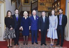 he Prince of Wales and The Duchess of Cornwall welcomed The President of Colombia, Mrs Santos and their children to @ClarenceHouse today. The President and Mrs Santos are in the UK this week for the #ColombiaStateVisit.