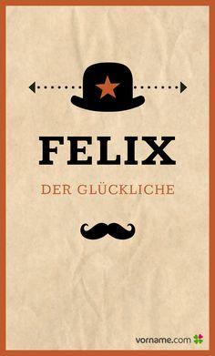 Nomen est omen? Finde heraus, wo der beliebte Jungenname herkommt, wann sein Namenstag ist und vieles mehr. Alle Infos zum Namen Felix auf Vorname.com entdecken!