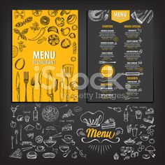 Find Cafe Menu Restaurant Brochure Food Design stock images in HD and millions of other royalty-free stock photos, illustrations and vectors in the Shutterstock collection. Menu Restaurant, Restaurant Brochure, Wings Restaurant, Restaurant Recipes, Restaurant Design, Menu Café, The Menu, Menu Book, Menue Design