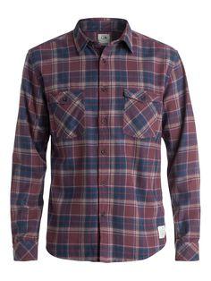 Fitzthrower - Quiksilver Langarm-Hemd für Männer  Dieses Hemd von Quiksilver ist Teil der Kollektion 2015 und besticht mit: Baumwoll-Flanell, moderner Passform und garngefäbtem Karo.  Merkmale:  Langarm-Hemd, Baumwoll-Flanell, Moderne Passform, Garngefärbtes Karo, Zwei Brusttaschen,  Dieses Produkt besteht aus:  100% Baumwolle,  ...