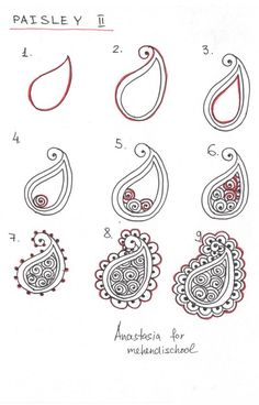 to draw indian mehndi henna paisley. DIY -How to draw indian mehndi henna paisley. DIY - Easy Mehndi Designs that are Quick to Try Yourself Mehndi Designs, Henna Tattoo Designs, Henna Tattoos, Henna Mehndi, Mehndi Flower, Mehendi, Henna Diy, Easy Mehndi, Foot Henna