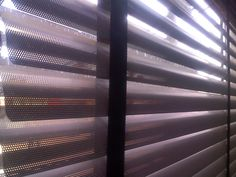 Close up Detail Horizontal Blinds, Mini Blinds, Curtains, Detail, Home Decor, Blinds, Decoration Home, Room Decor, Interior Design