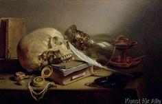 Pieter Claesz - A Vanitas Still Life