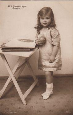 Großfürstin Kyra Kirillowna v Rußland sp Przin v Preußen m Ball 1914 |
