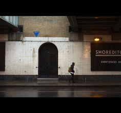 London, november days on Behance