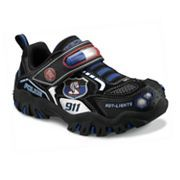 skechers police light up shoes
