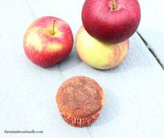 Apple cider donut muffin