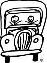 Two Men And A Truck Logo. This logo was drawn by the founder on a napkin!