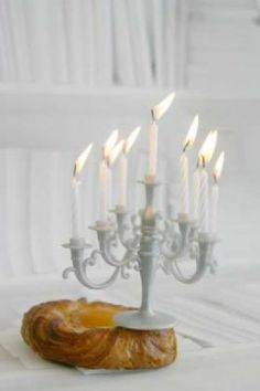 OMG I love - a candelbra candle for those super luxury birthday cakes! R st.