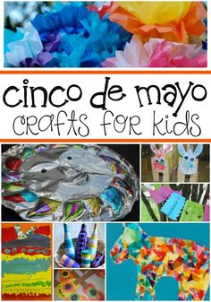 ¡Feliz Cinco de Mayo! This May 5th celebrate Cinco de Mayo with your kids with these ten Cinco de Mayo Crafts For Kids.