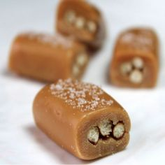 Beer & Pretzel Caramels - Pretzel Recipes curated by SavingStar. Save money on your groceries with eCoupons at savingstar.com