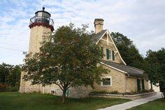 McGulpin Point Lighthouse by shipwrecklog.com, via Flickr