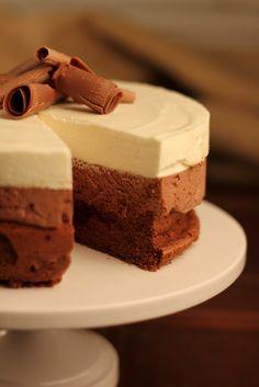 Triple Chocolate Mousse Cake...