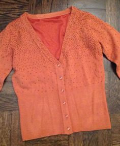 Cashmere Blend Beautifully Beaded Spring Sweater Size M $10.99 eBay