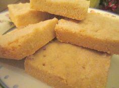 Super-Easy Shortbread (3 Ingredients)