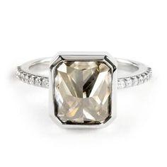 Jamie Joseph Inverted Radiant-Cut Diamond Ring | Greenwich Jewelers