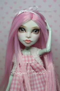 Monster high repaint custom faceup Scarah Fresa by SweetDollShop