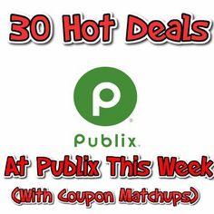 How To Get 30 Cheap Deals at Publix This Week - http://couponsdowork.com/publix-coupon-matchups/publix-30-deals-427428/