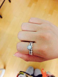 aea4093c8 Pandora Jewelry Rings Sale Rose Gold Rings At Pandora #pandorajewelry. See  more. Moon stone +Faith ring:white enamel
