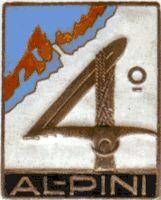 Distintivo storico del 4° Alpino Italian Army, Reggio, Badges, Patches, Symbols, Climbing, Name Badges, Icons, Badge