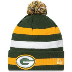 83175e32de8 Men s New Era Green Bay Packers-Definitely want one of these for winter.  Green