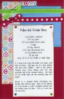 Polka Dot Cookie Bars