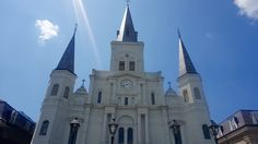 absolutely stunning--St Louis Cathedral-New Orleans, LA