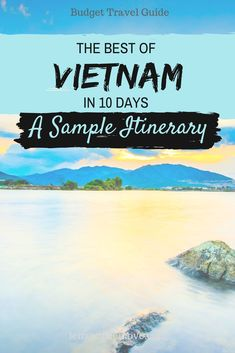 Discover Vietnam's highlights in 10 days by traveling from south to north – a sample itinerary for first-time travelers to Vietnam, incl. sightseeing tips. Visit Vietnam, North Vietnam, Vietnam Hotels, Hanoi Vietnam, Backpacking South America, Backpacking Asia, Taiwan Travel, China Travel, Hoi An