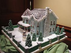 Gingerbread House 2009 #3