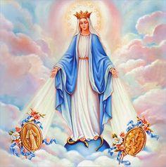 a518d7b91d5 Oración a la Virgen de la Medalla MIlagrosa para recibir bendiciones  Económicas Inmaculada Madre de Dios y madre mía