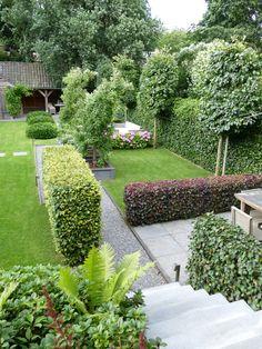 4 terraces for 4 seasons in 1 garden Back Gardens, Small Gardens, Outdoor Gardens, Terrasse Design, Balcony Plants, Garden Deco, Garden Types, Shade Garden, Garden Planning