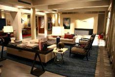 Serena Vander Woodsen family room