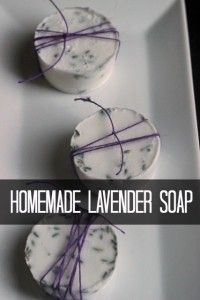 These lavender soap bars smell nice and make a practical homemade gift that everyone could use. You could give them alone or as part of a spa gift basket. 100 Days of Homemade Christmas Gifts at The Happy Housewife