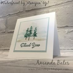 The Craft Spa - Stampin' Up! UK independent demonstrator : Waterfront Trees...