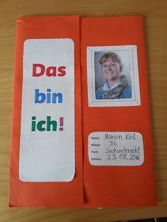 """Um das Kennenlernen einer neuen Klasse für mich und die Schüler angenehm zu gestalten, habe ich ein neues """"Das bin ich""""-Lapbook vom Verlag a..."""