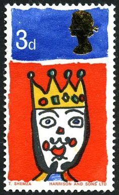 Stamp name: King of the Orient Value: Release date: 1 December 1966 Designer: Six-year-old Tasveer Shemza About this collection These stamps were the result of a competition held by children's TV programme, 'Blue Peter' Postage Stamp Design, Postage Stamps, Uk Stamps, Commemorative Stamps, Blue Peter, 3d Christmas, My Childhood Memories, Penny Black, My Memory