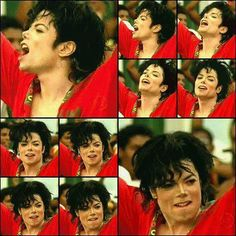 Just a few of the many expressions of Michael